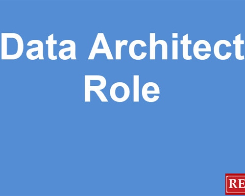 The Data Architect Role:  All you need to know...