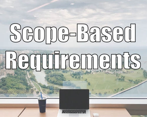 Scope-based High-Level Requirements