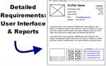 User Interface and Report Business Needs