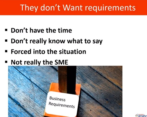 Webinar: Stop Gathering Requirements