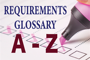 Requirements Glossary